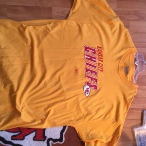 Kansas City chiefs Reebok T-shirt